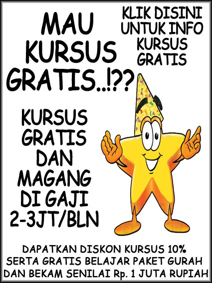 KURSUS GRATIS